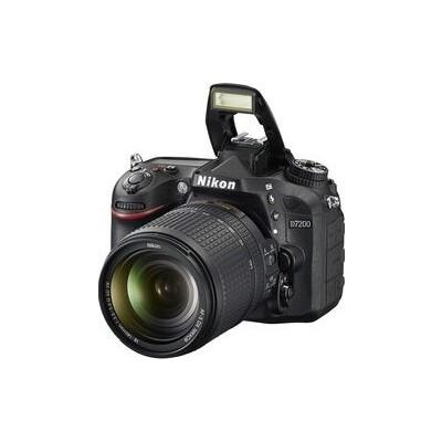 Nikon D7200 24.2MP Digital SLR Camera Body Only (Black) with 16 GB Card