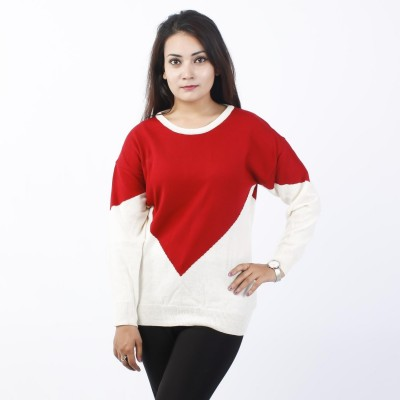 Boat Neck Sweater For Women (LL-17-05)