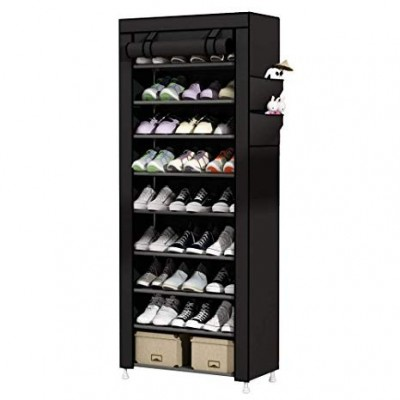 7 Layers Portable and Folding Shoe Rack